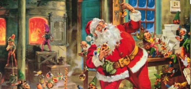 Santa's toy production