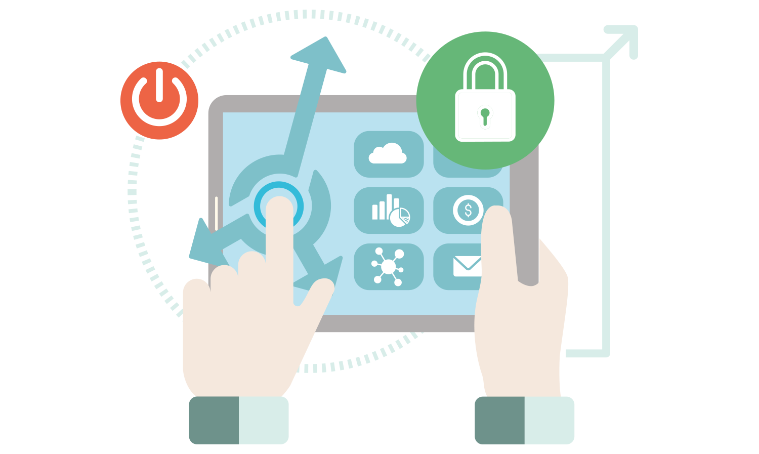 Make your data secure with microsoft dynamics 365